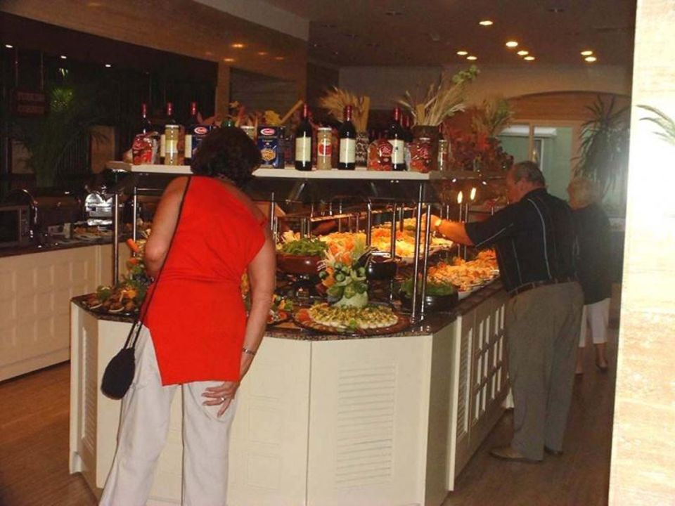 Hotel Rixos Belek - Salat- und Vorspeisenbuffet Papillon Ayscha Hotel