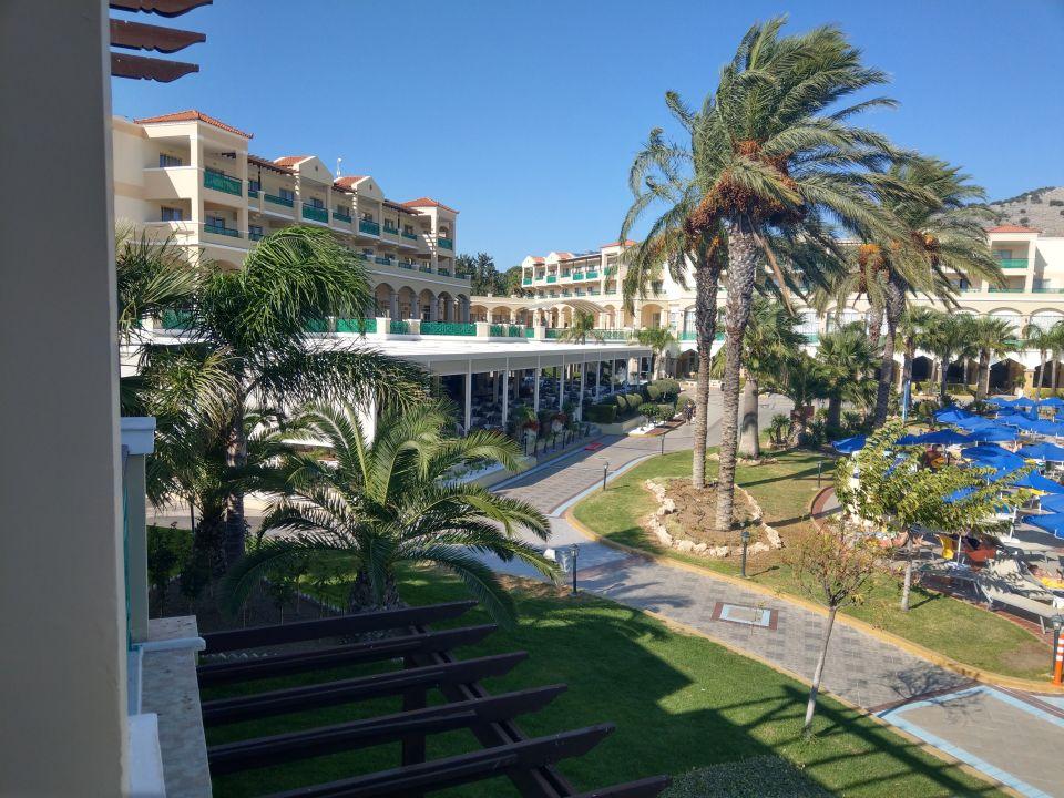Ausblick Lindos Princess Beach Hotel