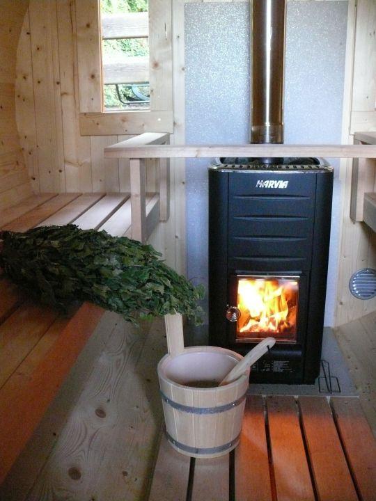 holzofen für sauna