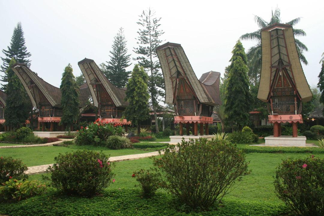 Teil der Anlage Hotel Toraja Misiliana