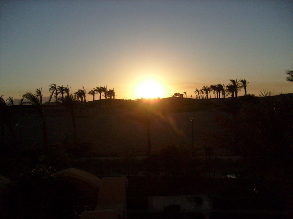 Sonnenuntergang Hotel JAZ Makadi Star & Spa