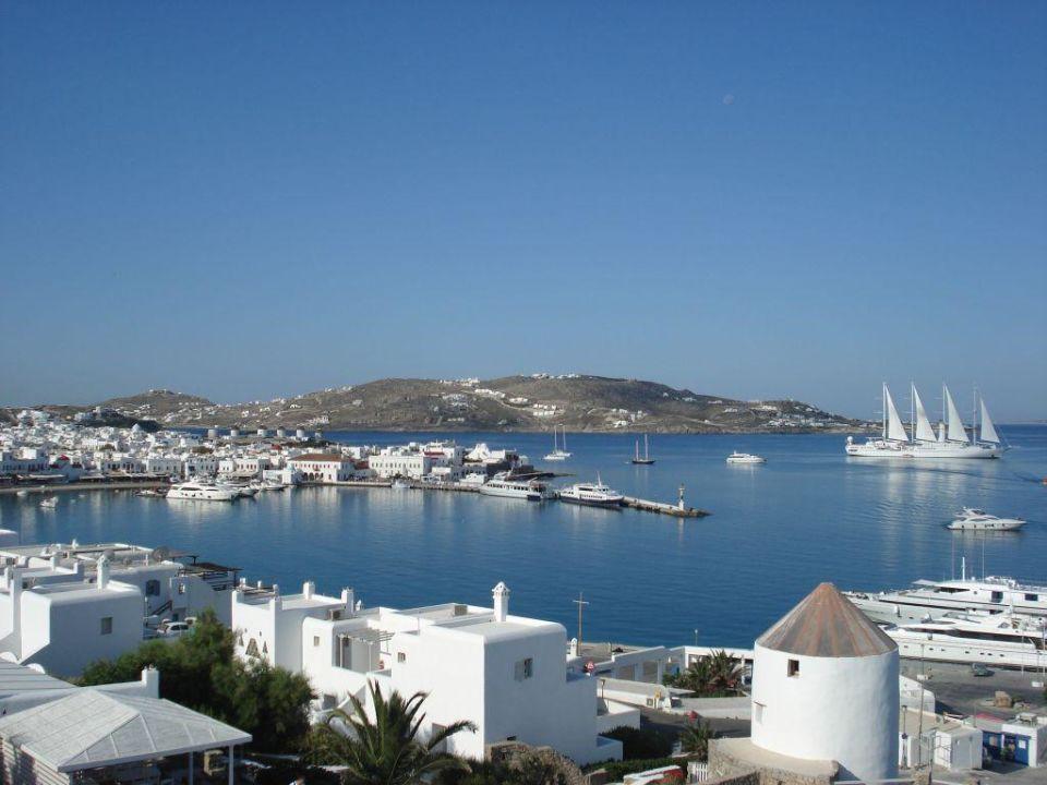 nice view Hotel Porto Mykonos