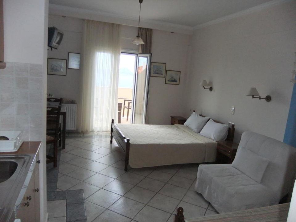 Das Schlafzimmer, hell und sauber Hotel Philip