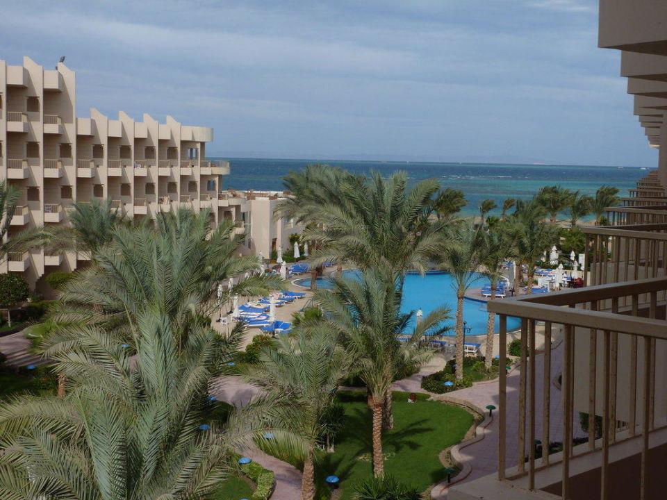 Ausblick von unserem Zimmer Hotel Sea Star Beau Rivage