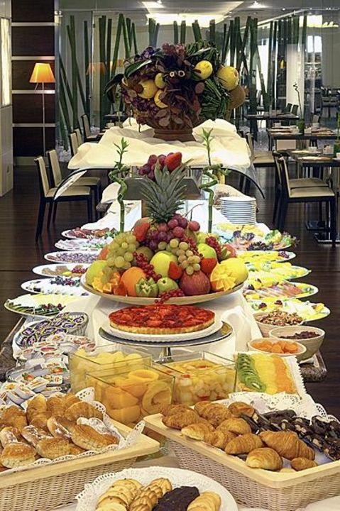 Detalle buffet Hotel Nuevo Madrid