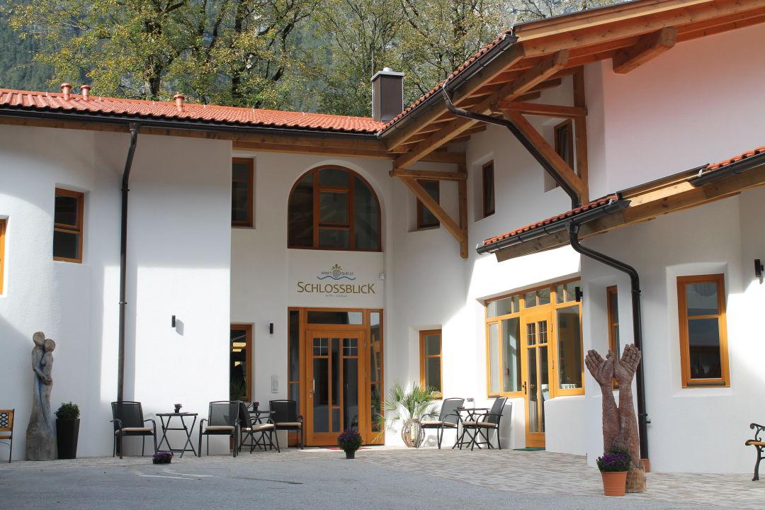 Außenansicht Hotel Kraftquelle Schlossblick