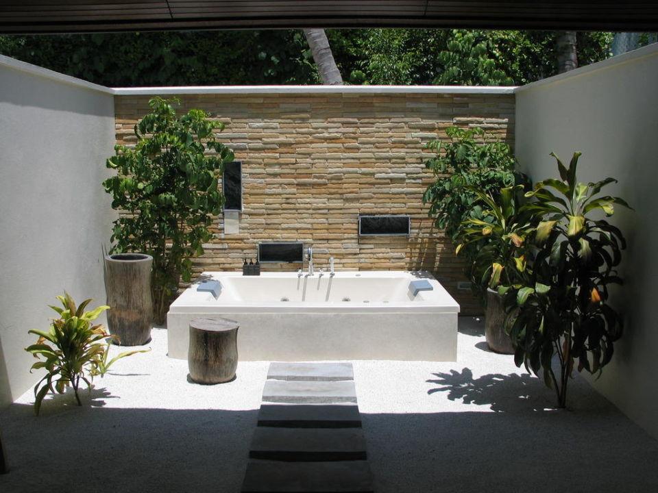 Badezimmer im Freien\