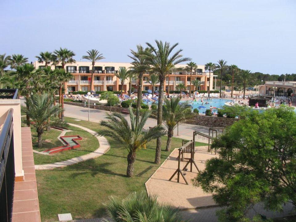 Poolbereich Hotel Grupotel Mar de Menorca