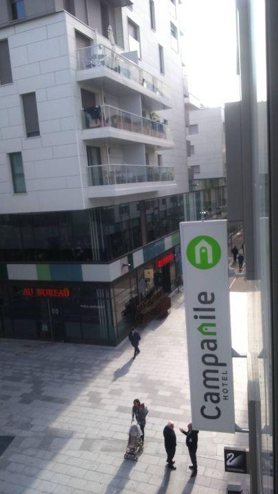 Ausblick aus dem Zimmer Campanile Annemasse Centre - Gare