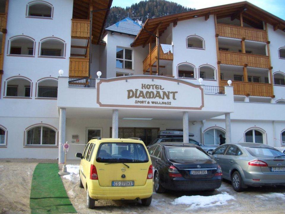 Das Hotel von aussen! Hotel Diamant