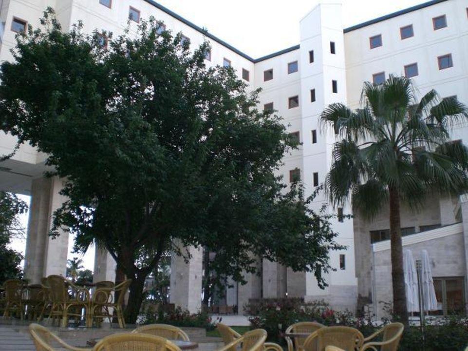 Vom Innenhof fotografiert Hotel Mirada del Mar