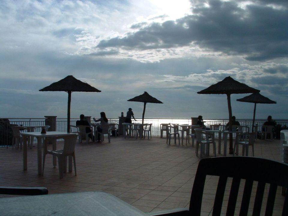 Abendstimmung Villa Sirena