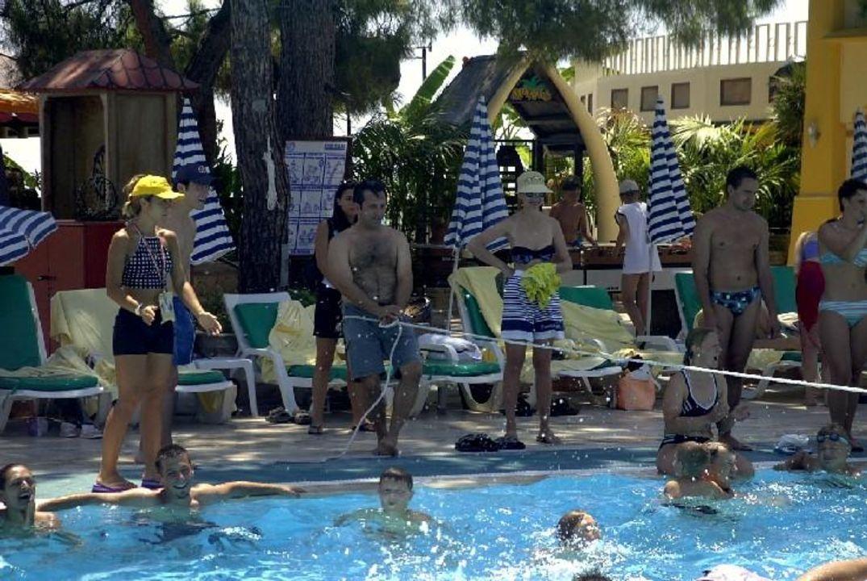 Wasserspiele Hotel Boran Mare Beach