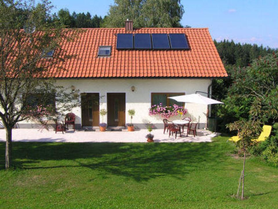 Ferienwohnung-terrasse Ferienwohnung Donauperle