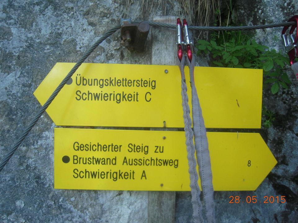 Klettersteig Wolfgangsee : Heftige kritik an klettersteig boom oesterreich orf at