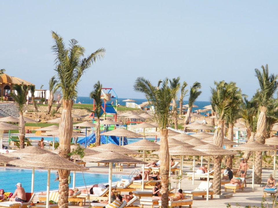 Vue du balcon Hotel The Three Corners Sunny Beach Resort