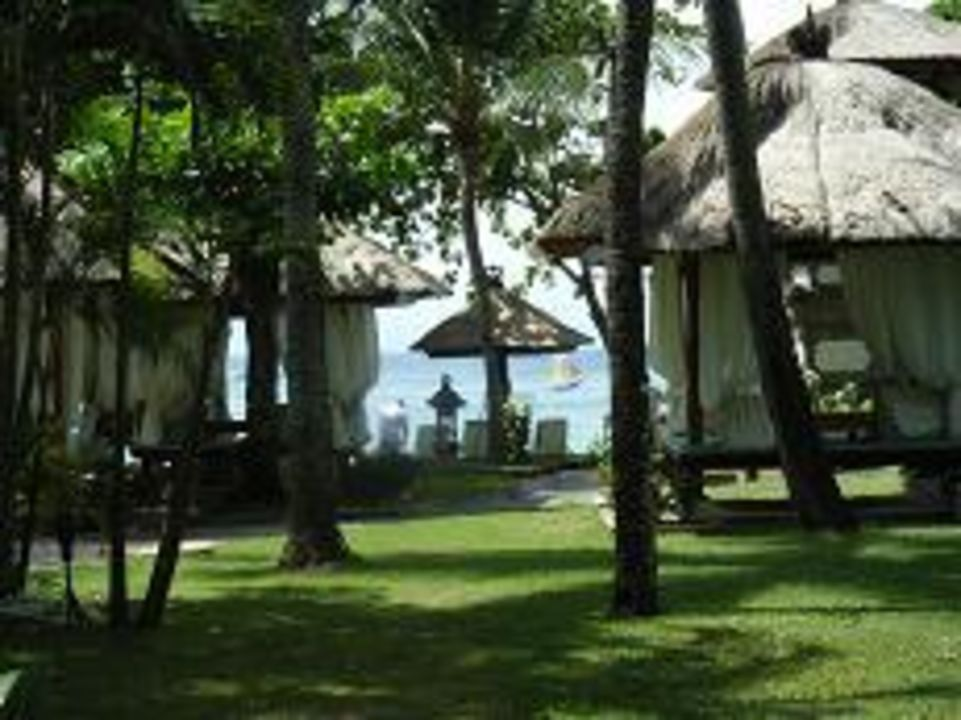 Strandhäuschen im Sheraton am Strand von Nusa Dua The Laguna A Luxury Collection Resort & Spa
