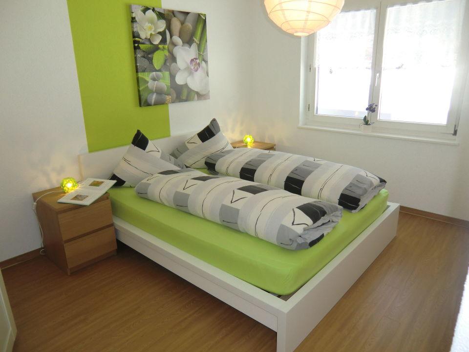 Schlafzimmer 2.5-Zimmerwohnung Haus Alcazar