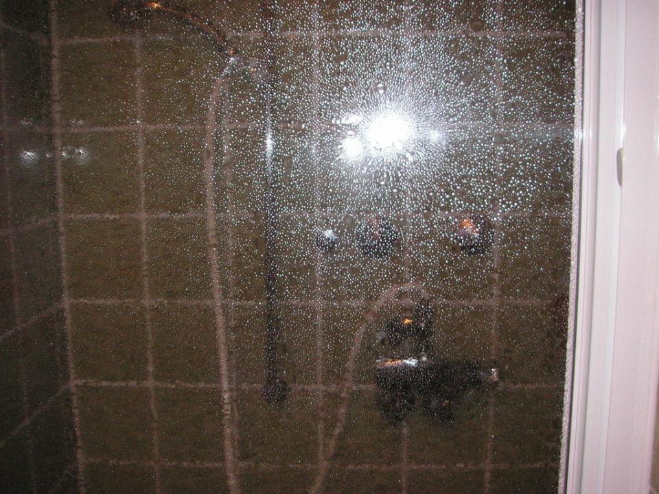 Dusche im Altbau Familotel FamilienKlub Krug