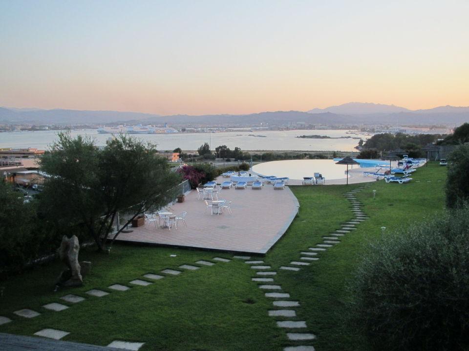 Ausblick von der Lobby Alessandro Hotel