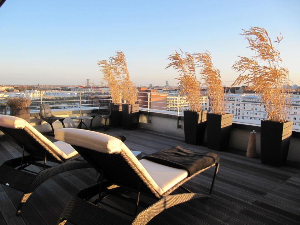 Dachterrassen Berlin dachterrasse der lounge vienna house andel s berlin berlin