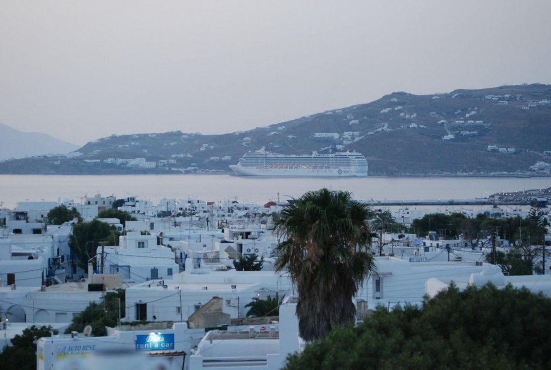 Ausblick vom Pool Hotel Ilio Maris