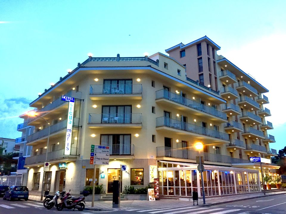 Außenansicht Hotel Stella Maris