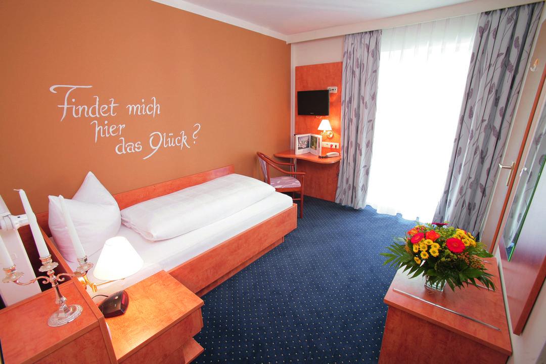 Gemütliches Einzelzimmer Hotel Seeblick