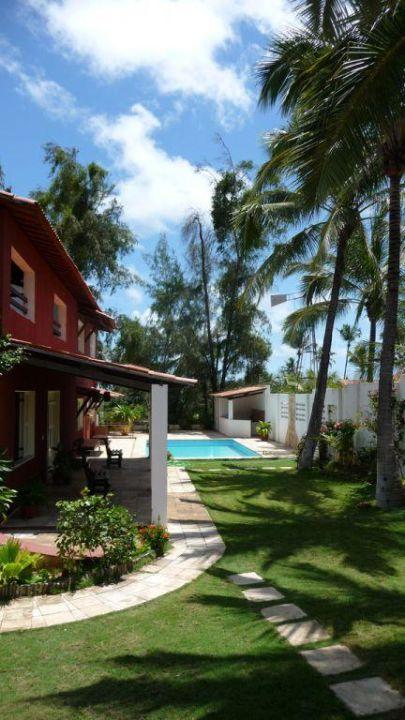 Blick von der Veranda Richtung Pool und Meer Casa Cohiba