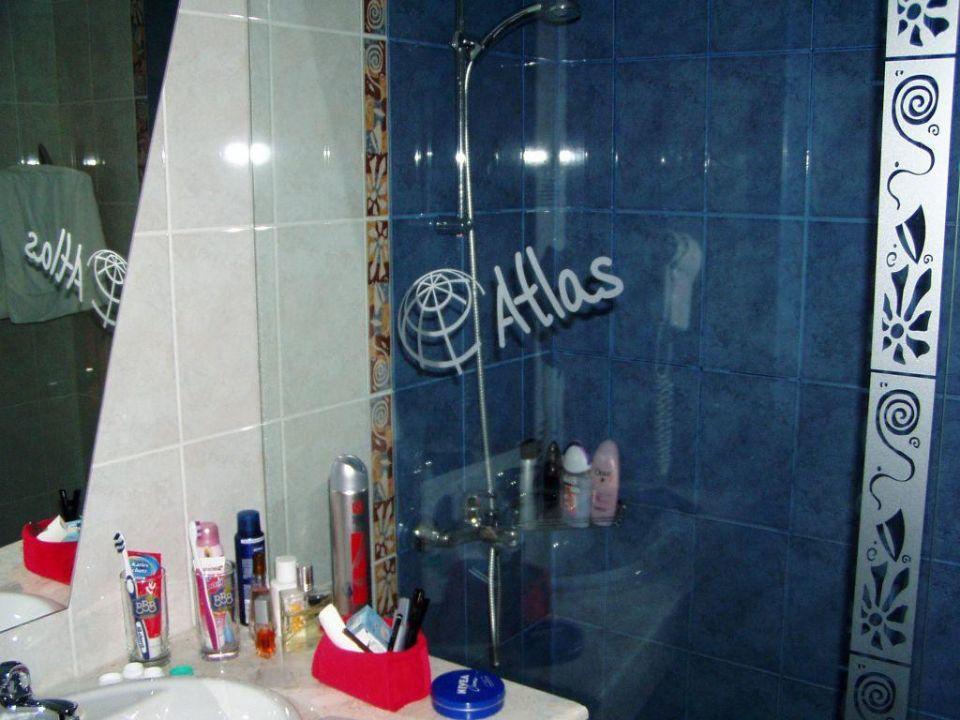 Duschkabine Hotel Atlas Hotel Atlas