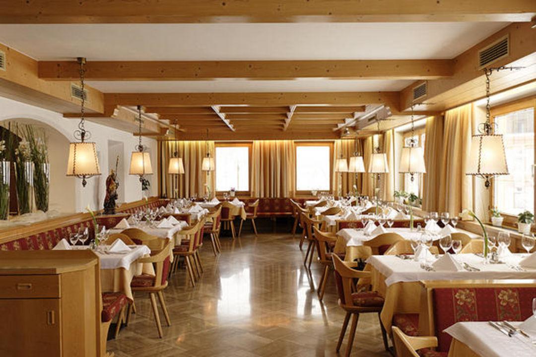 Dolomiten-Panorama-Speisesaal/Sala da pranzo\