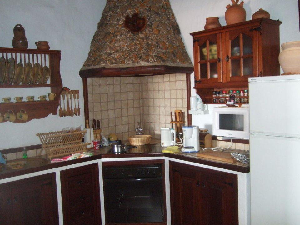 Küche Hotel El Caserio de Guime