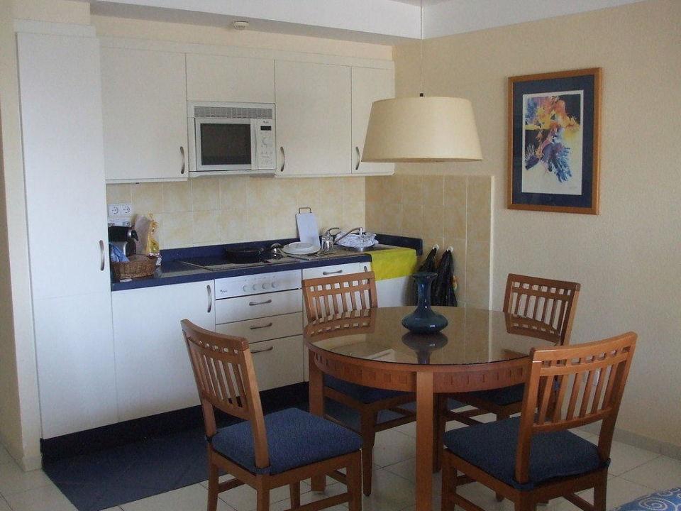 Wohnzimmer Kochnische Hapimag Anlage Marbell Resort Marbella