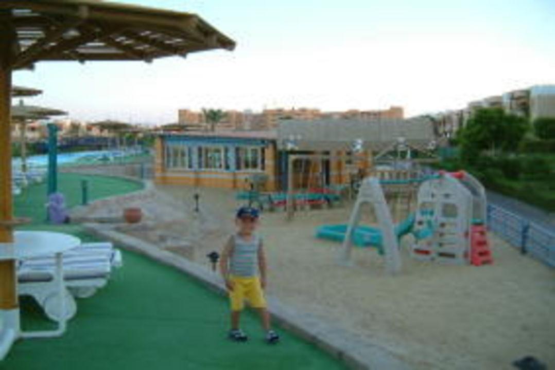 Spielplatz am Kinderclub Movie Gate Golden Beach Hurghada
