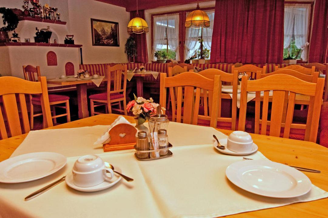 Frühstücksraum im Gästehaus Schneeberger Gästehaus Schneeberger