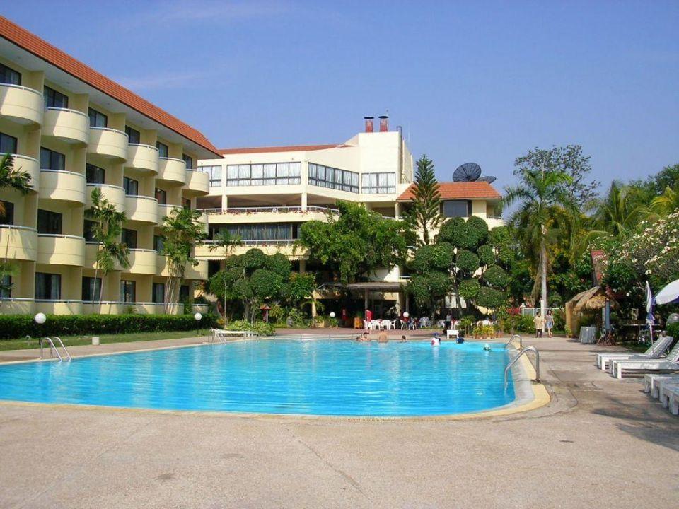 Poolanlage Hotel Beach Cha Am