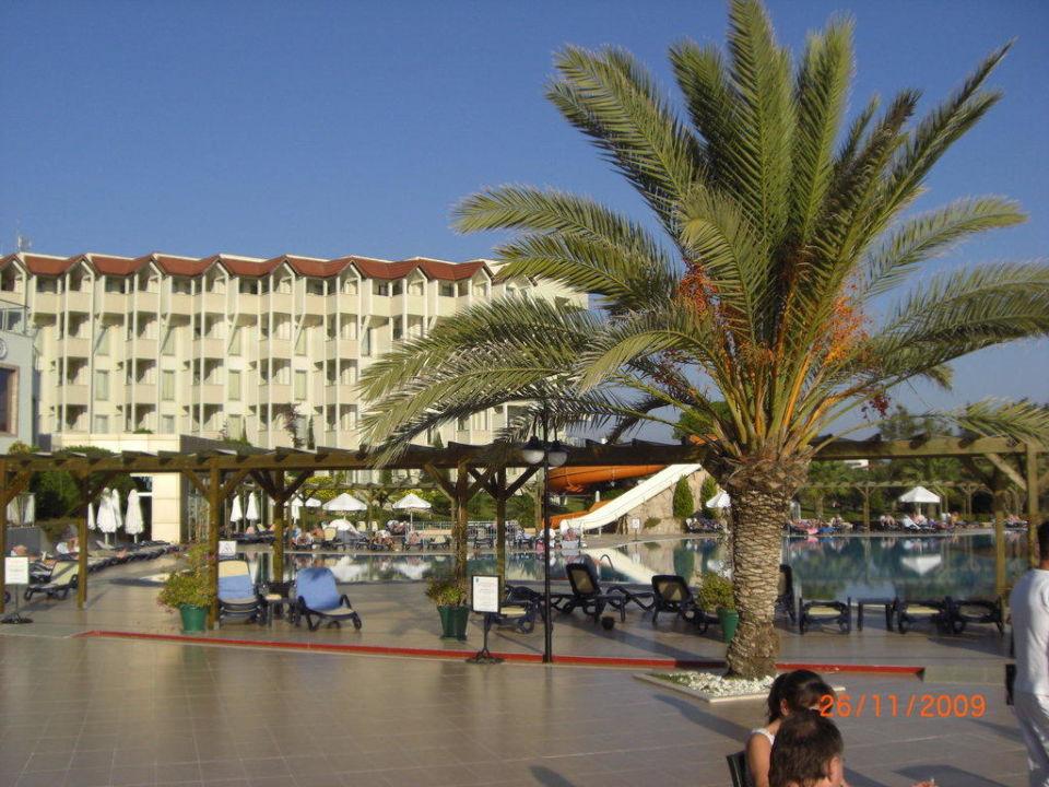 Blick zur Anlage Arcanus Side Resort