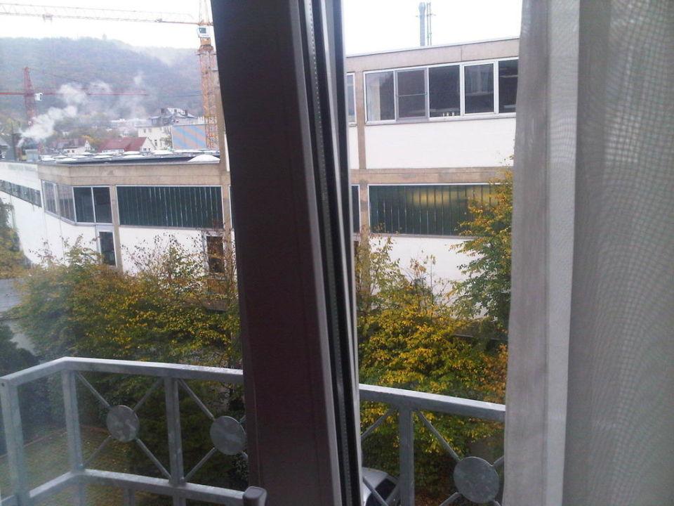 Blick aus dem Zimmer Vila Vita Rosenpark