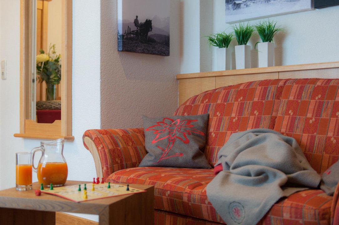 Wohnbereich - Appartement Hochkönig Landhaus Rohrmoser