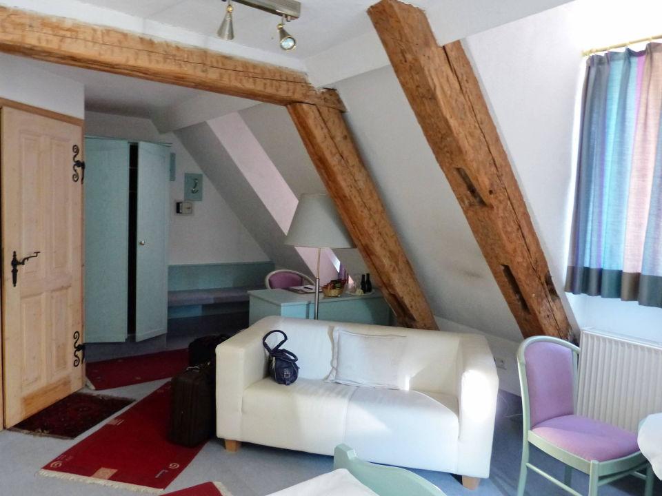 Doppelzimmer Im Dachgeschoss Hotel Kreuzer Volkach