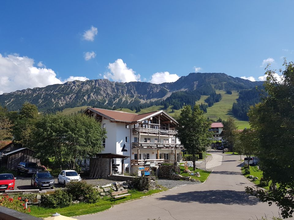 Ausblick Hotel Alpengasthof Löwen