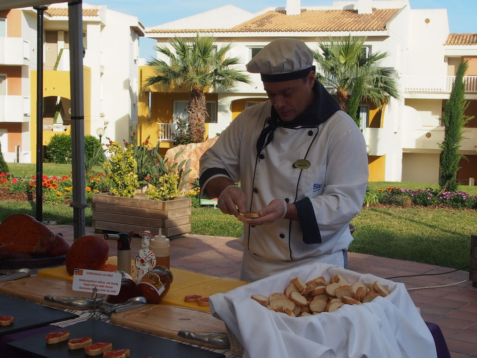 Awesome Themen Speisen Vor Dem Speisesaal Blau Punta Reina Resort