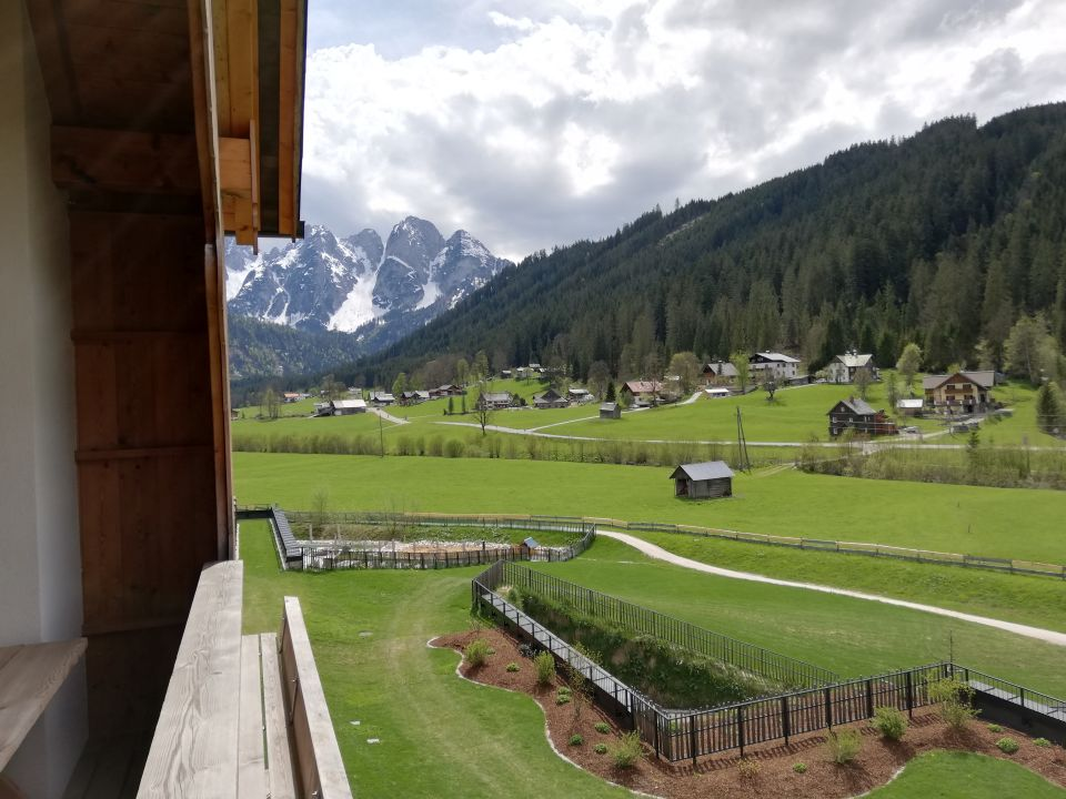 Ausblick Leading Family Hotel & Resort Dachsteinkönig