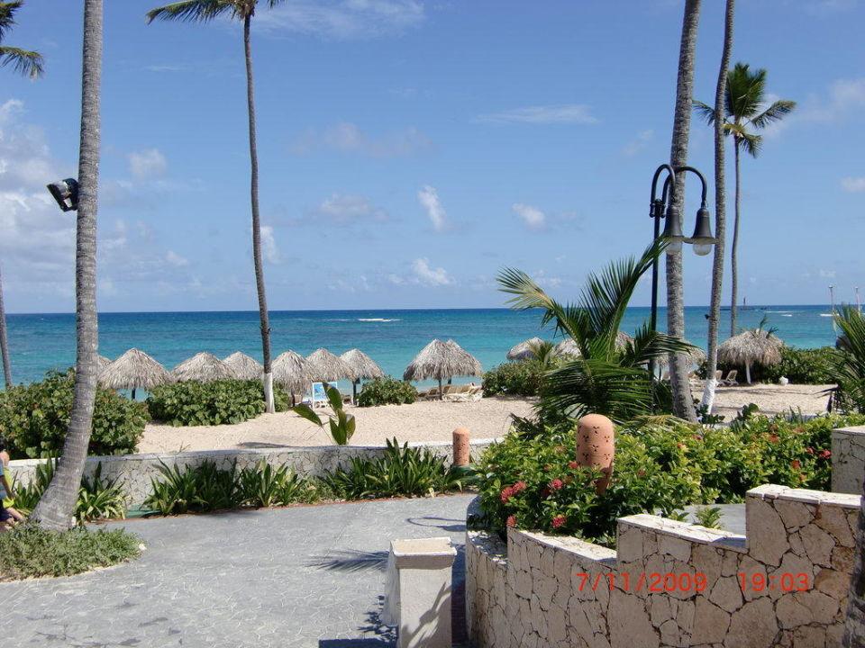 Ausblick vom Strandrestaurant Majestic Elegance Punta Cana Resort