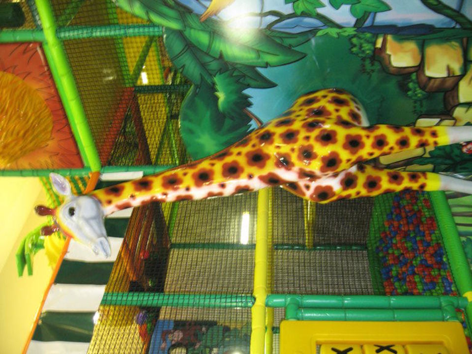 Kletterzimmer im Kinderclub Hotel Güral Premier Tekirova