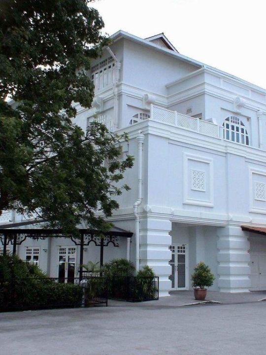 Herman Hesse suite was in this corner Eastern and Oriental Hotel Penang