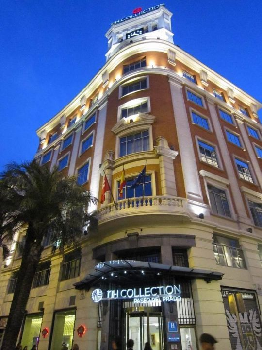 Facade Hotel NH Collection Madrid Paseo del Prado