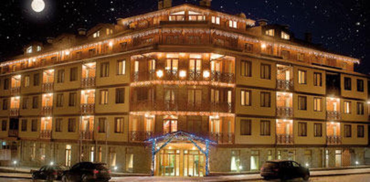 Widok na hotel Hotel Vihren Palace Ski & Spa Resort