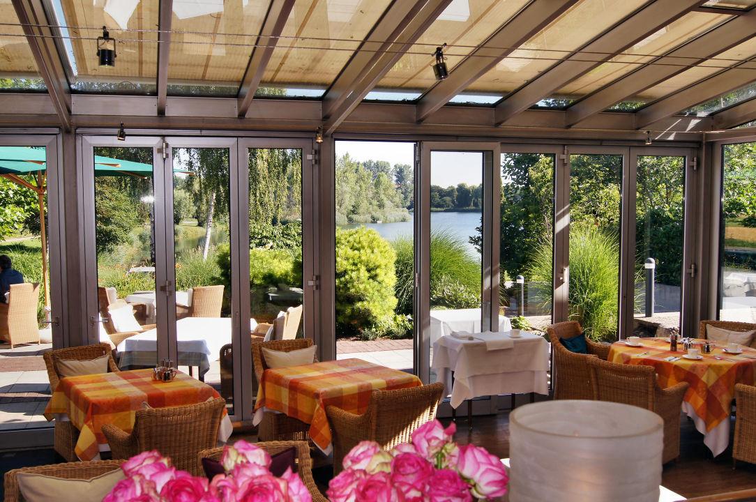 Fruhstucksausblick Auf Den See Seehotel Restaurant Die Ente