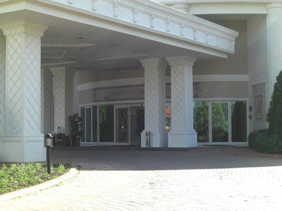 Eingangsbereich Trendy Aspendos Beach Hotel